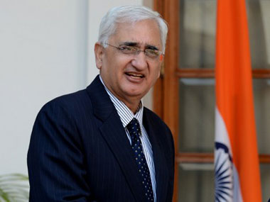 Air needs to be cleared before India responds to Pak Salman Khurshid