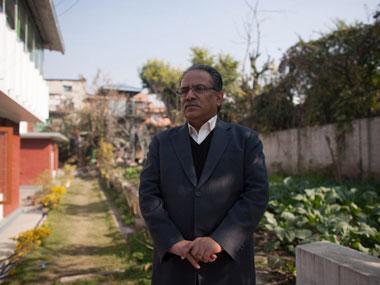 Nepal's Prime Minister Prachanda. AFP.