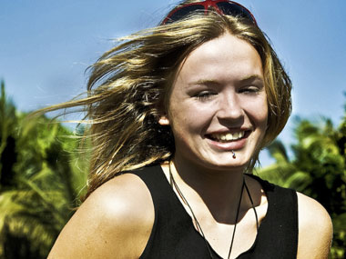 An undated family handout picture of teenager Scarlett Keeling who was found dead in Goa. Reuters