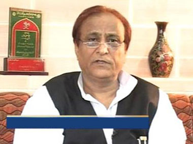 Azam Khan: Image from IBn live