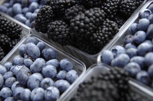 Study Red grapes blueberries may enhance immune function