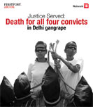 Justice Served:  Death for all four convicts  in Delhi gangrape