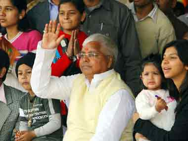 Lalu Prasad Yadav is accused of having engineered the scam. AFP