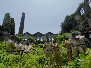 The police now believe the gang was using the deserted mill compound to commit the crimes. PTI