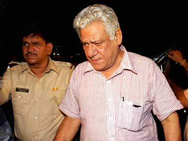 Om Puri had earlier sought bail after being accused of domestic violence. PTI