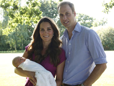 William and Kate moving into Kensington Palace with newborn son