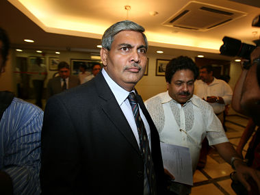 File photo of Shashank Manohar. Reuters