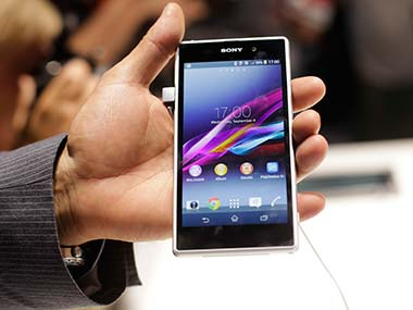 Sony Xperia Z1 during the IFA launch. AP