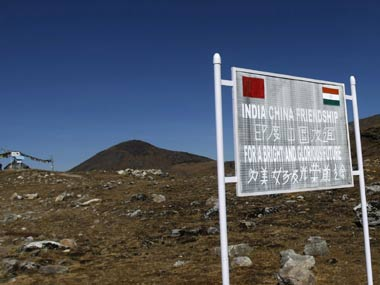 The Indo-China border has often been the site of frequent conflagrations. PTI.