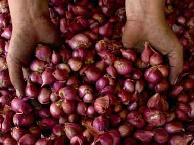 With onion touching Rs 100 per kg food security is a joke