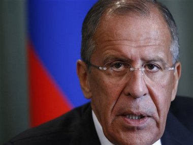 File image of Russian Foreign Minister Sergey Lavrov. AP image