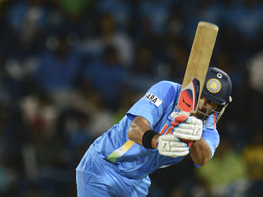 Yuvraj's performances in recent matches impressed the selectors. Reuters