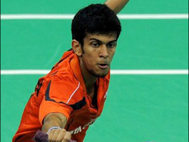File photo of Ajay jayaram. Pic: Badminton Association of India