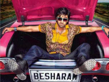 Review Rishi Neetu together cant save Ranbirs Besharam