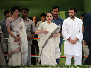 Week after Gandhi family loses SPG cover CRPF takes over security for Sonia Rahul and Priyanka