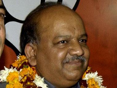 BJP's Delhi CM candidate Dr Harsh Vardhan.