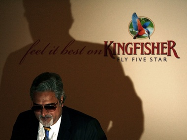 Bad times at Kingfisher Mallyas fortune dips by 50 mn