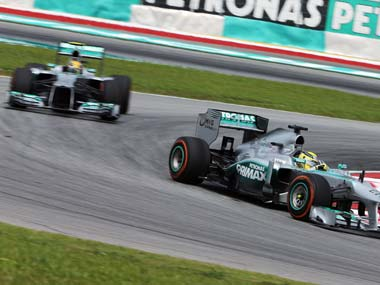 Its a new era Brawn stands down as Mercedes F1 principal