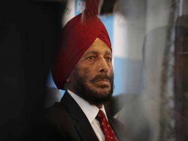 File photo of Milkha Singh. Getty Images
