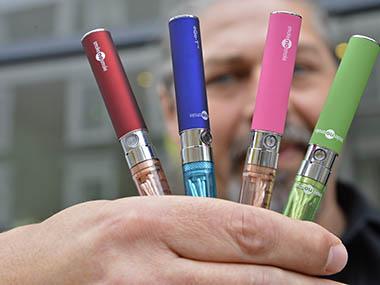 Representational Image. E -cigarettes. Reuters