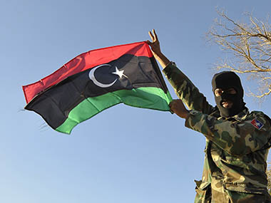 Libyan National Army launches air strikes against rival militia that targeted oil facilities in eastern part of country