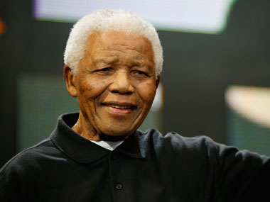 Nelson Mandela. Getty Images