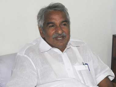 Kerala Chief Minister Oommen Chandy. Image courtesy PIB