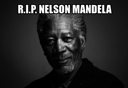 This is not Mandela.