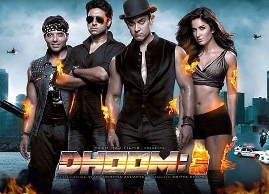 Dhoom3 review Heists bikes Aamir Katrina but no fun