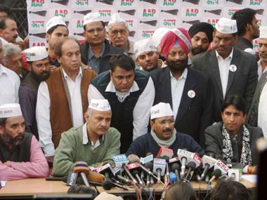 The rise of the AAP has the BJP worried. PTI