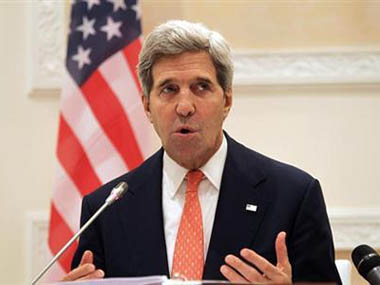 Kerry says plenty of ways for Iran still to join Syria talks