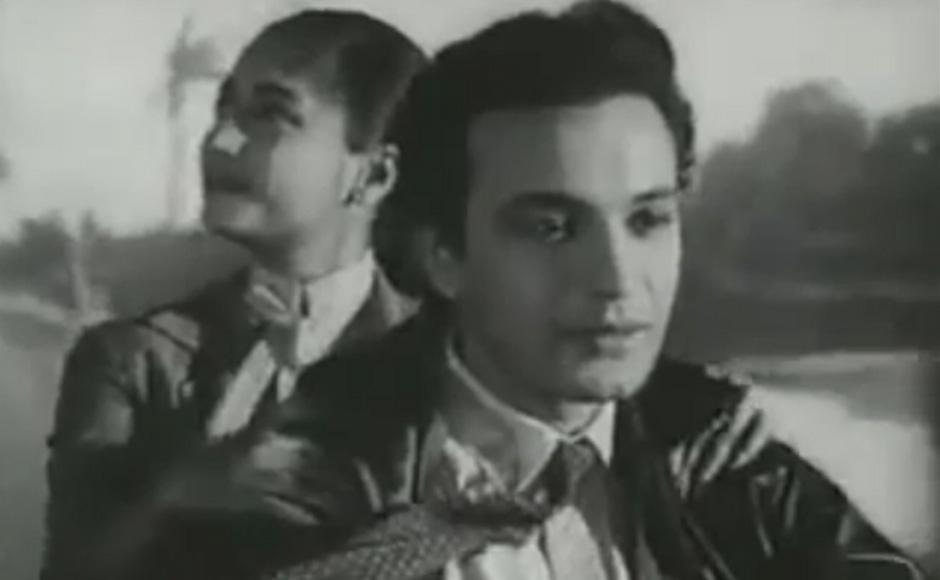 Saptapadi — a romantic drama starring the hit pair of Uttam Kumar and Suchitra Sen released in 1961 and was an instant hit.  The story unfolds in pre-independent India where a young Hindu lad, Krishnendu (Uttam Kumar) falls in love with a charming Christan girl Rina Brown (Suchitra Sen).