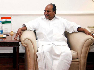 File image of AK Antony. AFP