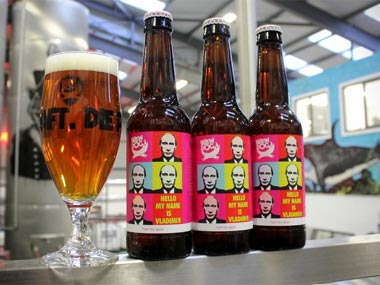 Scottish brewery launches not for gays beer sends a crate to Putin