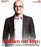 Indian on top: Satya Nadella to captain new Microsoft innings