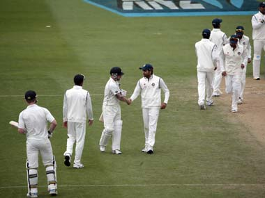 India and New Zealand battled to a draw in the second Test. Reuters