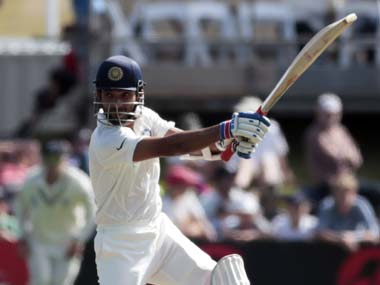 Ajinkya Rahane missed out on a hundred in Durban. In Wellington, he reached three figures for the first time in Tests. Reuters