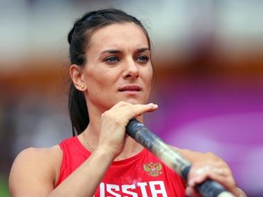 Yelena Isinbayeva. Getty Images