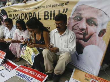 A file image of Lokpal protest. Reuters