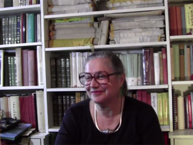 Wendy Doniger. Image courtesy: Screengrab from YouTube video uploaded by Aleph Book Company.