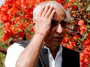 Defiant Jaswant digs heels in Wont withdraw Barmer nomination