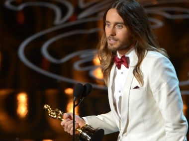 Jared Leto. Image from AP.