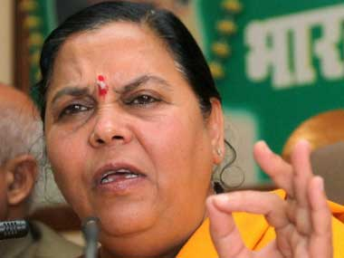 Umas tough clauses nix BJP plans to pit her against Sonia