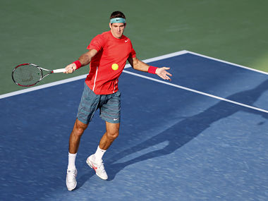 File picture of Juan Martin Del Potro. REUTERS