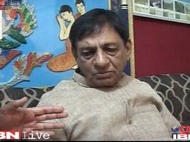BJP MP Hukum Singh meets Rajnath, discusses law and order situation in UP