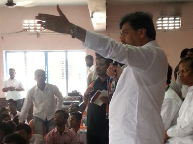 What Adarsh On campaign trail Ashok Chavan is untouched by scandal