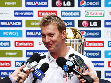 File picture of Brett Lee. Getty Images