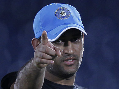 File picture of MS Dhoni. Reuters