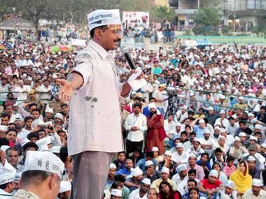 Kejriwal has been explaining his rationale behind quitting throughout this campaign. PTI
