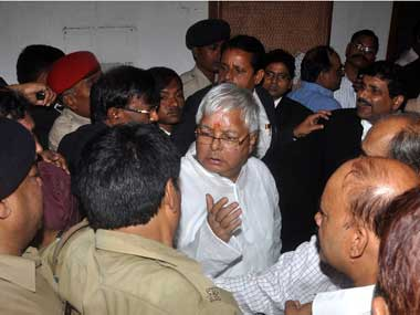 In Pataliputra Lalu Prasad is facing a Yadav problem